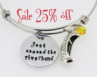 Sale 25% off -  Fairy Tale Bracelet -  Just around the riverbend bracelet Fairytale Jewelry   Princess Bracelet   Christmas Gift