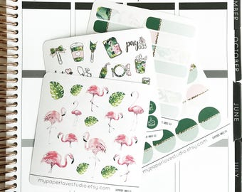 Planner Sticker / Icons / Functional Stickers : Rose Garden