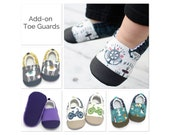 Add-on Toe Guard for Non-slip baby shoes & toddler shoes, reinforced toe