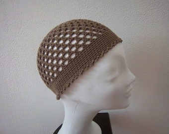 (Brown) #Collection crochet Beanie was