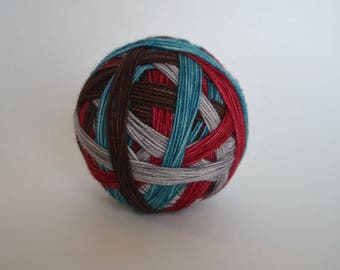 """Ready to Ship! Spark Sock: """"Making Memories"""" - Red, Brown, Blue, Silver Gray"""