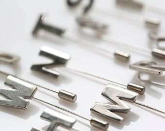 Puccini Initial Stick Pins