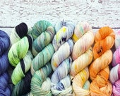 Harry Potter Mini Skein set! 7x 20g minis in colors inspired by the wizarding world - ready to ship
