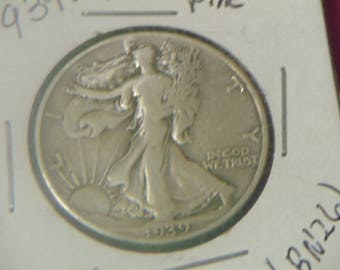 1939 P Walking Liberty Silver Half Dollar