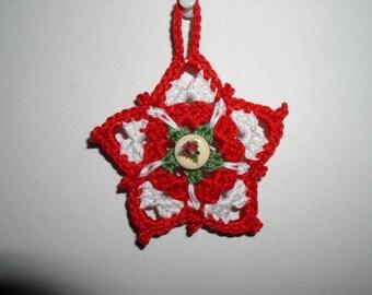 decorative Christmas star cotton Interior