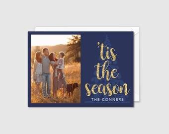 Printable Holiday Card - 'tis the season