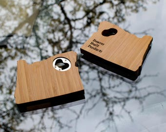 Bamboo Basic Bottle Opener