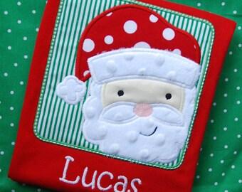 Boys Santa Shirt, Girls Santa Shirt, Christmas Shirt, Girls Christmas Shirt, Boys Christmas Shirt, Christmas Shirts for Boys