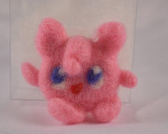 Pokemon Jigglypuff Fan Art - Needle Felt Collections
