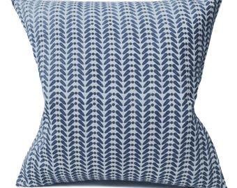 Blue Cushion- Linen Cushion- Navy Blue- Linen Pillow- Scandinavian Modern- Scandinavian Cushion- Retro Cushion- Navy Cushion- Cushion Cover