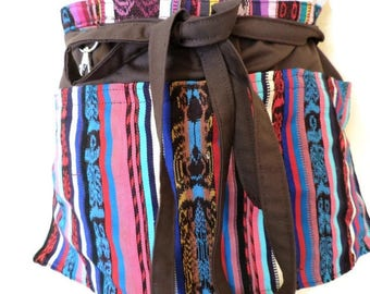 Utility Apron, Teacher Apron, Half Apron, Teacher Apreciation Gift, Mexican Style, Pocket Apron