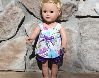 Handmade doll clothes, doll clothes, 18 inch doll clothes