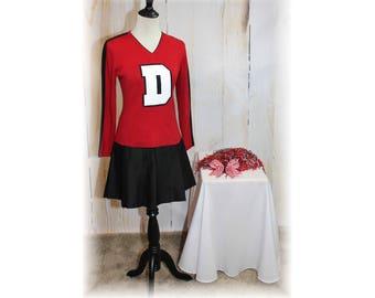Retro Cheerleader / Vintage Cheerleader / Cheerleader Sweater / Cheerleader Costume-Medium (K74)
