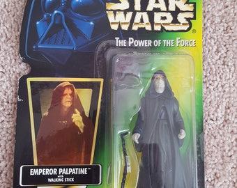 1996 Star Wars Emperor Palpatine by Kenner - Unopened