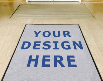 Your Logo, Photo or Artwork on a Doormat (CUSTOM)