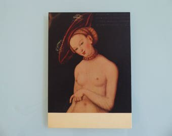 Lucas Cranach The Elder (1472-1553) Artwork Post Card