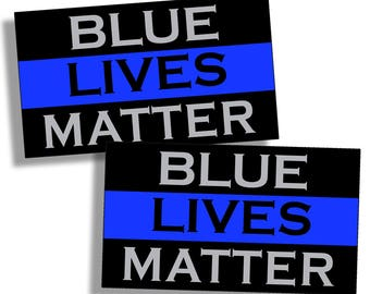 Blue Lives Matter Sticker Thin Blue Line Car Truck Cup Laptop Graphic Decal K9
