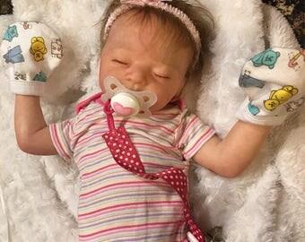 Little baby girl. Reborn,