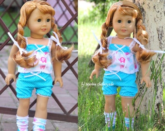 3pcs.in set for 18 inch dolls, fits like American Girl Dolls .