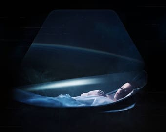 Alien by Camila Fernandez A3 - A4 Print