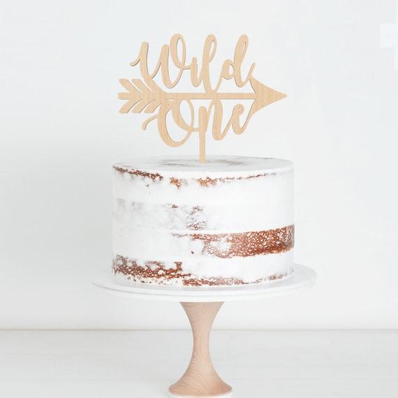 Wild One Cake Topper Birthday Script