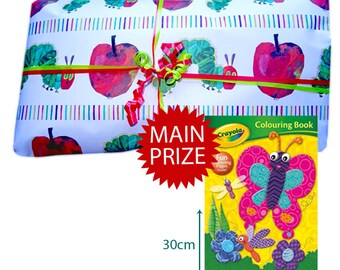 Pass the Parcel Ready Made Party Game - for Toddlers Hungry Caterpillar
