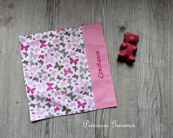 Home birthday * napkin, snack, butterflies, to order cotton