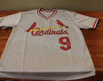 Gray St Louis Cardinals Baseball Terry Pendleton #9 Jersey
