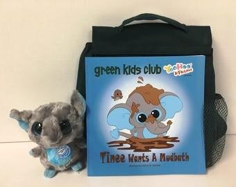 Green Kids & Teenie Book Gift Set
