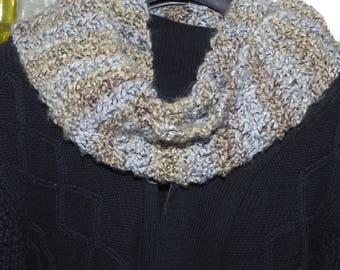 Knitted Infinity Scarf Unisex neck scarves Gift
