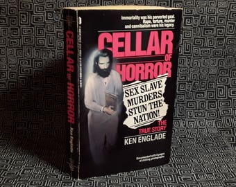 Cellar Of Horror Book, Ken Englade, Gary Heidnik Sex Slave Murders Stun The Nation, Paperback True Crime Book, 1988