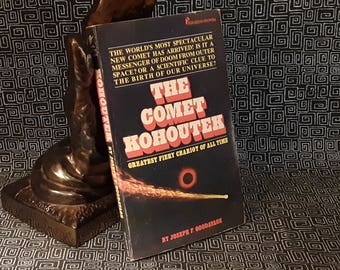 The Comet Kohoutek by Joseph F. Goodavage, Paperback Book, 1973 First Printing, Astronomy, Astrology, Prophecy, Halley's Comet