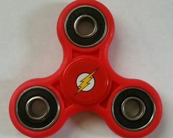 Red Flash Superhero/Justice League Fidget Spinner/Stress-ADHD-Anti Anxiety-Focus Toy