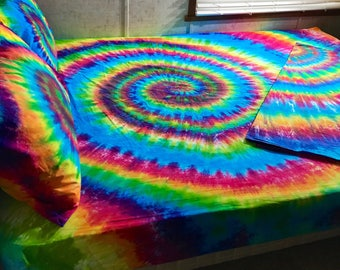 how to make tie dye sheets