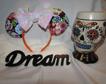 Day of the Dead Coco Mouse Ears / Headband