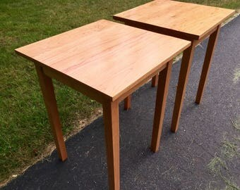 Solid Cherry End Table
