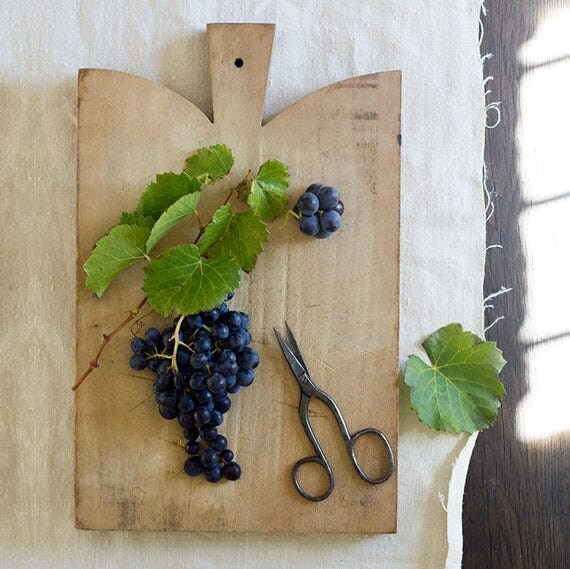 Vintage Rustic French Cutting Board