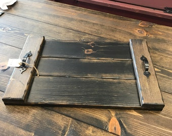 Country Primitive Serving Tray