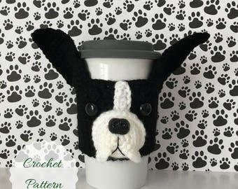 Dog Crochet Pattern - Crochet Dog Pattern - Crochet Pattern Dog - Crochet Pattern - Amigurumi Patterns - Crochet Patterns - Mug Cozy Pattern