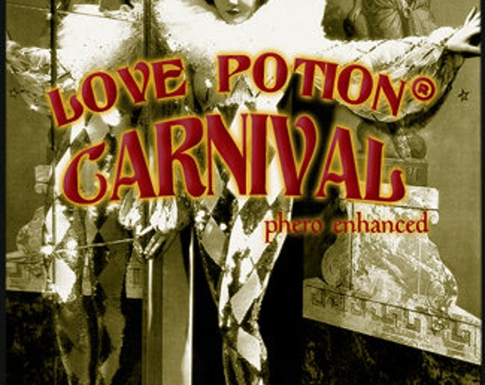 Love Potion: Carnival w/ Audacious - Carnival Collection Sept. 2016 - for Women - Phero Enhanced Fragrance - Love Potion Magickal Perfumerie