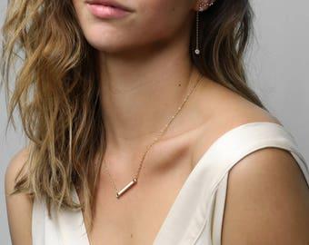 Constellation Earrings Ear Crawler Earrings Zodiac Jewelry Star Ear Climber virgo libra gift for women - ELD-Z