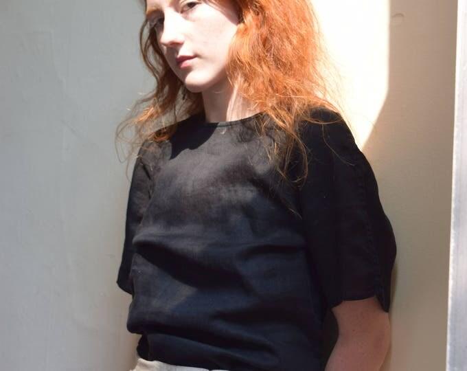 Georgio Armani linen t-shirt