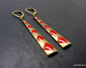 Earrings diamond earrings