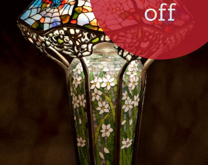 Featured listing image: Tiffany Cobweb lamp