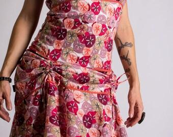 Frasquita passiflore boho chic maxi ruffled dress