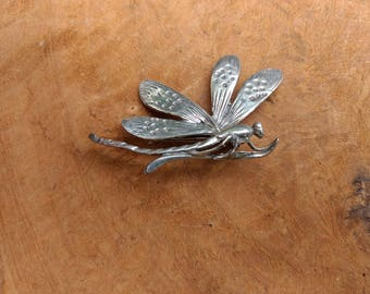 Dragonfly - Art Nouveau Brooch - Vintage - Insect