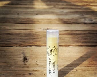 Organic and Essential Oil Lip Balm