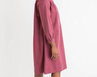 70s Pink Tunic Dress L