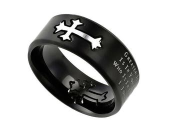 "Black Neo Ring ""Greater"