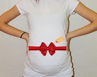 Christmas maternity shirt christmas pregnancy shirt christmas christmas pregnancy announcement shirt maternity shirt Xmas Gift
